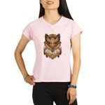 Native American Owl Mandala 1 Performance Dry T-Sh