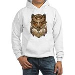 Native American Owl Mandala 1 Hooded Sweatshirt