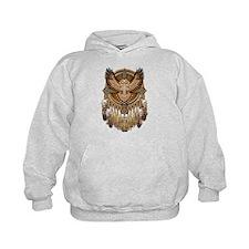 Native American Owl Mandala 1 Hoodie