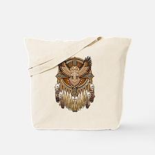 Native American Owl Mandala 1 Tote Bag