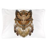 Native American Owl Mandala 1 Pillow Case