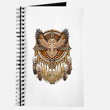 Native American Owl Mandala 1 Journal
