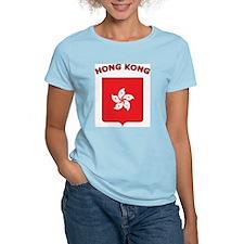 Hong Kong Women's Pink T-Shirt