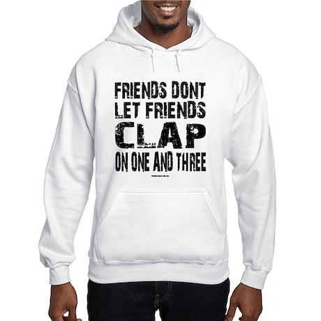 One and Three Hooded Sweatshirt