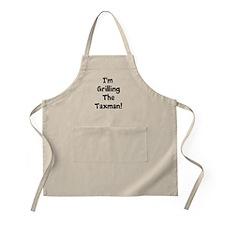 Tax Preparer Humor Gift - Tax Quote Apron (khaki)