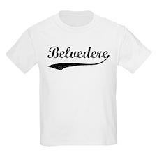 Belvedere - Vintage Kids T-Shirt