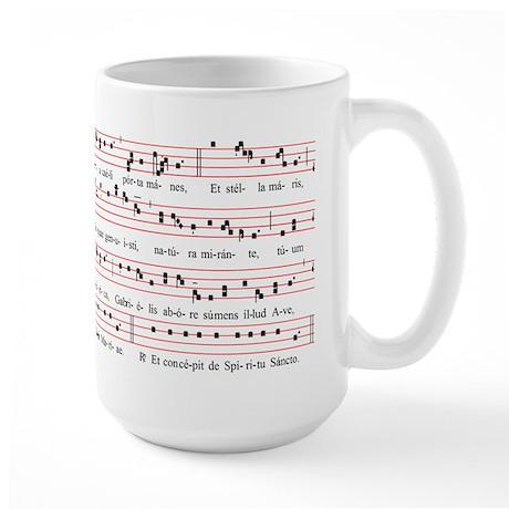 Alma Redemptoris Large Mug