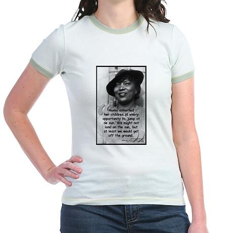 Hurston Mama Quote Jr. Ringer T-Shirt