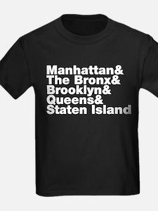 Five Boroughs New York City T