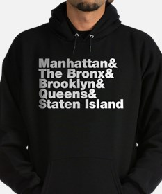 Five Boroughs New York City Hoodie