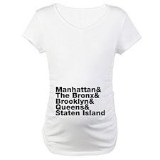 Five Boroughs New York City Shirt