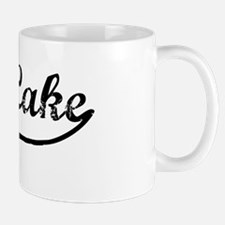 Bass Lake - Vintage Mug