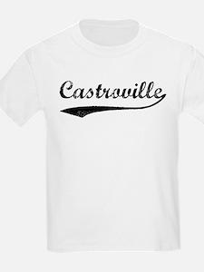 Castroville - Vintage Kids T-Shirt