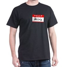 Mira, Name Tag Sticker T-Shirt
