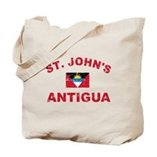 St. John;s Antigua designs Tote Bag