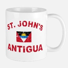 St. John;s Antigua designs Mug