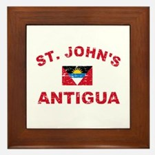 St. John;s Antigua designs Framed Tile