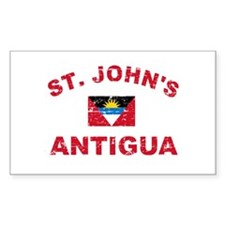 St. John;s Antigua designs Decal