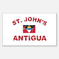 St. John;s Antigua designs Decal