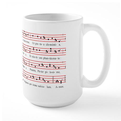 Te Lucis Ante Terminum (Mode 4 Solemn) Large Mug
