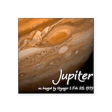 "Jupiter-Voyager Square Sticker 3"" x 3"""