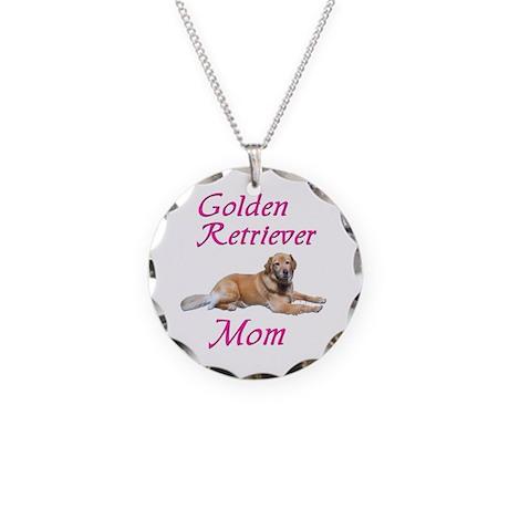 GoldenMom.jpg Necklace Circle Charm