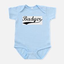 Badger - Vintage Infant Creeper