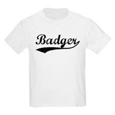 Badger - Vintage Kids T-Shirt