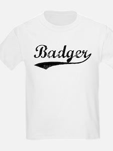 Badger - Vintage Kids T-Shirt