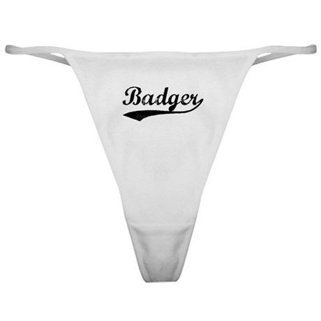 Badger - Vintage Classic Thong