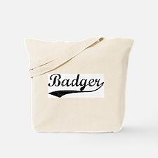 Badger - Vintage Tote Bag