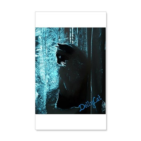 DollyCat Deep Deep Blue - Ragdoll Cat 38.5 x 24.5