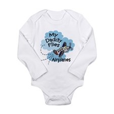 my daddy flies airplanes Body Suit