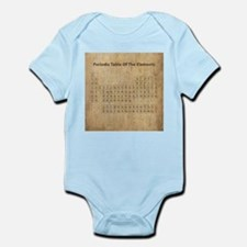 Vintage Periodic Table Infant Bodysuit