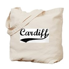 Cardiff - Vintage Tote Bag