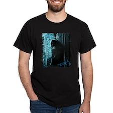 DollyCat Deep Deep Blue - Ragdoll Cat T-Shirt