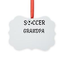 soccer grandpa Picture Ornament