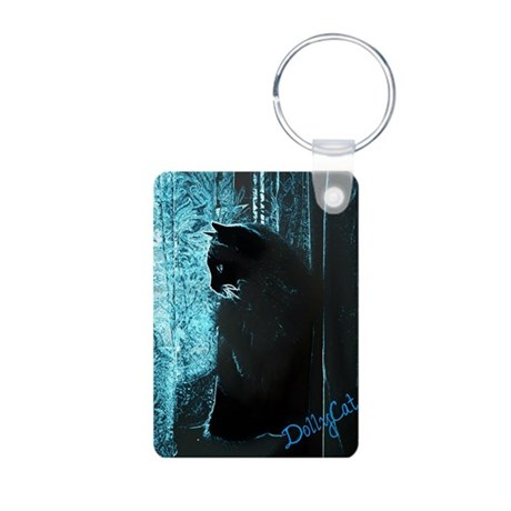 DollyCat Deep Deep Blue - Ragdoll Cat Aluminum Pho