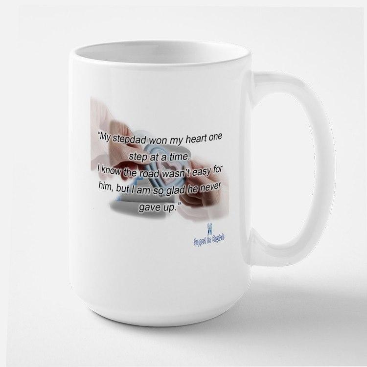 stepdad won my heart Mug
