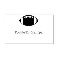 Football Grandpa Car Magnet 20 x 12