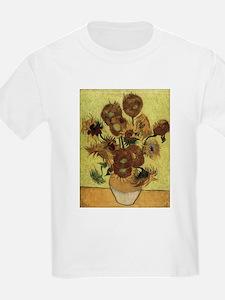 Vincent Van Gogh Sunflowers T-Shirt