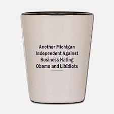 Michigan Independent Shot Glass