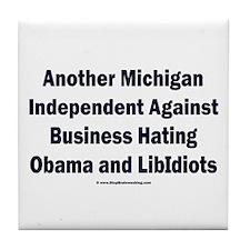 Michigan Independent Tile Coaster