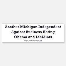 Michigan Independent Bumper Bumper Sticker