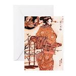 Geisha Dog Greeting Cards (Pk of 10)