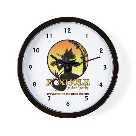 Foxhole Wall Clock