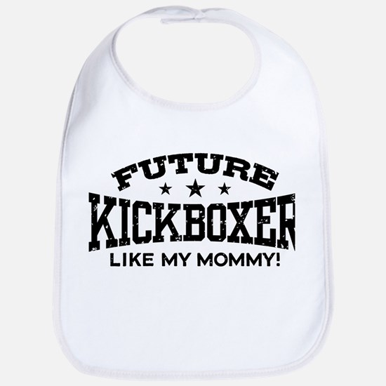Future Kickboxer Like My Mommy Bib