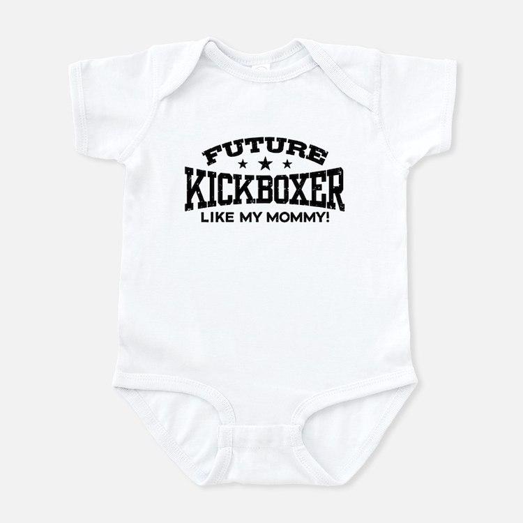 Future Kickboxer Like My Mommy Infant Bodysuit