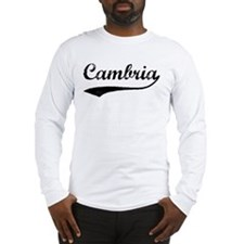Cambria - Vintage Long Sleeve T-Shirt