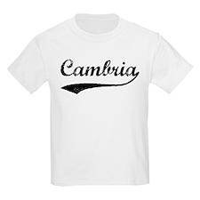 Cambria - Vintage Kids T-Shirt